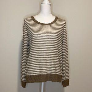 360 Sweater Drury Cross Back Sweater Stripe